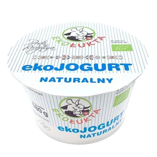 Jogurt Naturalny Eko 180g pomniejszony strona