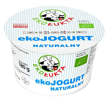Jogurt Naturalny Eko 180g pomniejszonystrona
