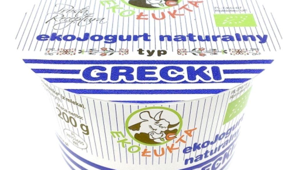 Jogurt Naturalny Typ Grecki EKO 200G pomniejszony strona