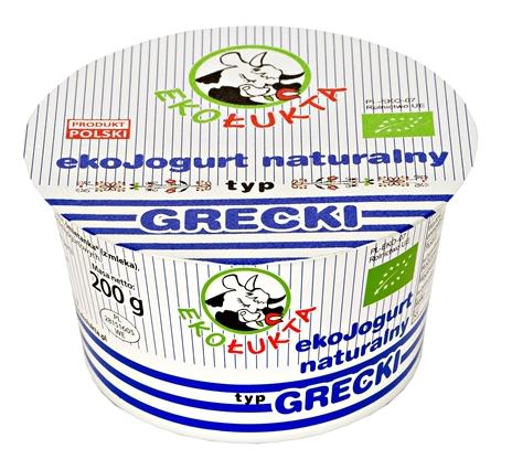 Jogurt Naturalny Typ Grecki Eko 200g pomniejszonystrona