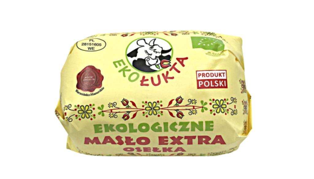 Masło Extra Osełka Eko 200g strona